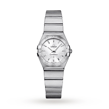 Omega Constellation Ladies 24mm Silver Quartz Watch