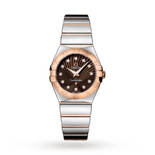 Omega Constellation Ladies 27mm Quartz Bicolour Watch