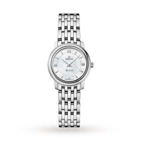 Omega De Ville Prestige Ladies 24.4mm Quartz Watch