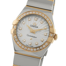 Omega Constellation 24mm Ladies Watch O12325246055006