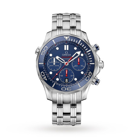Omega Seamaster Diver 300m Co-Axial Chronograph 41.5mm Mens Watch