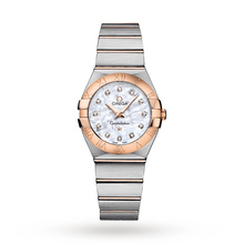 Omega Constellation Ladies 27mm Quartz Diamond Dot Watch