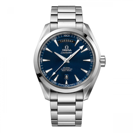 Omega Seamaster Aqua Terra 150M Mens 42mm Automatic Co-Axial Day-Date Watch