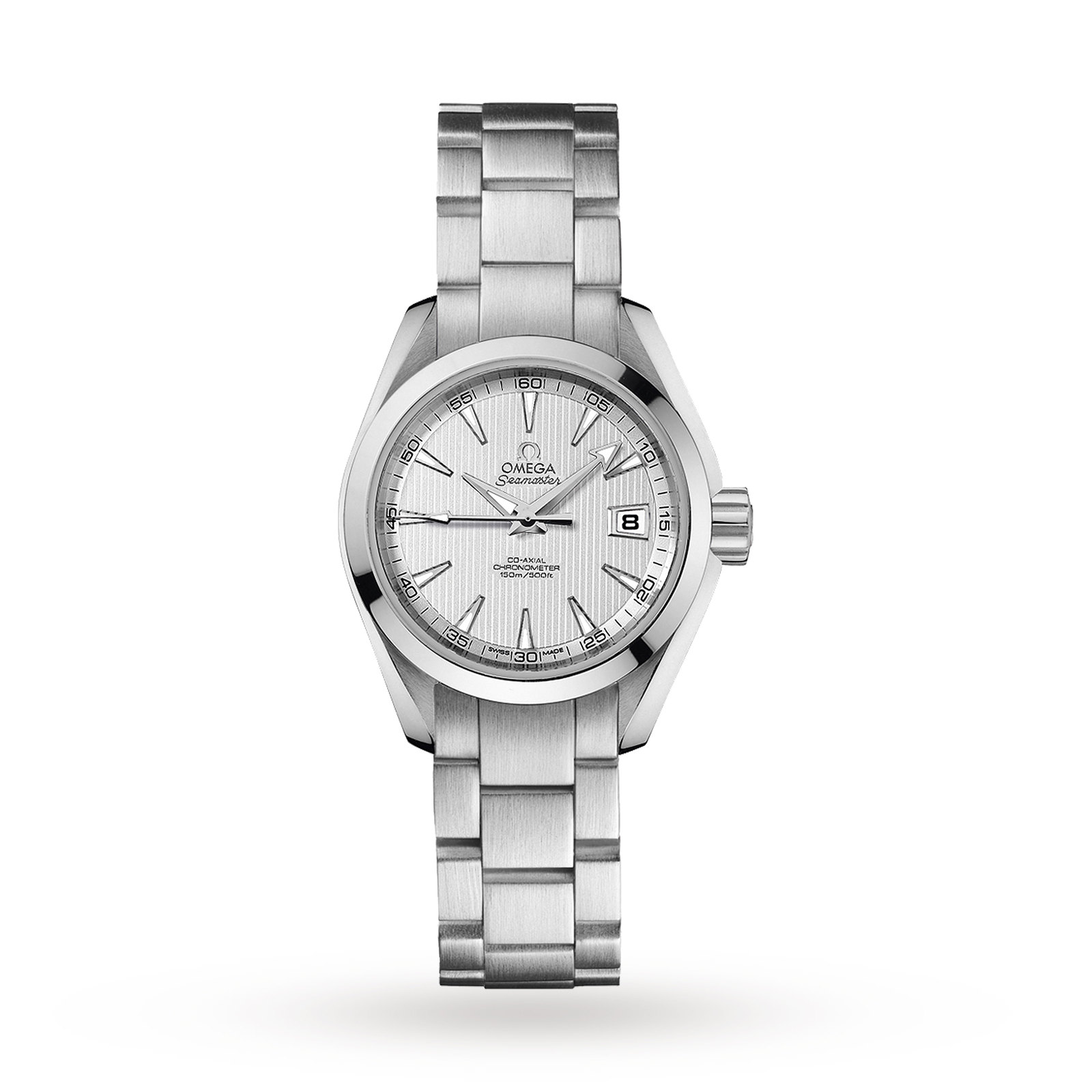 mercier watch main baume watches tone silver on gold steel in automatic essential rose dial bracelet womens clifton and