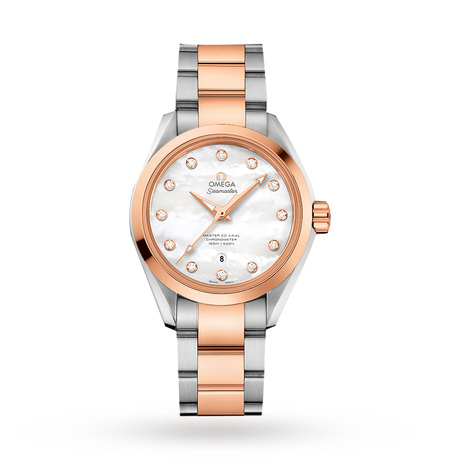 Omega Seamaster Aqua Terra Master Co-Axial Ladies Watch