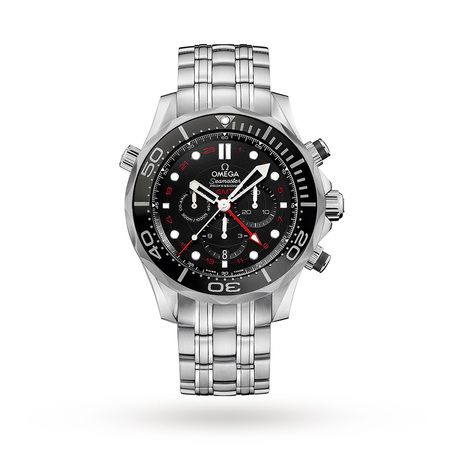 Omega Seamaster 300M GMT Mens Black Dial 44mm Automatic Co-Axial Watch