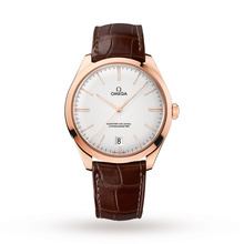 Omega De Ville Tresor Master Co-Axial Rose Gold Automatic Mens Watch