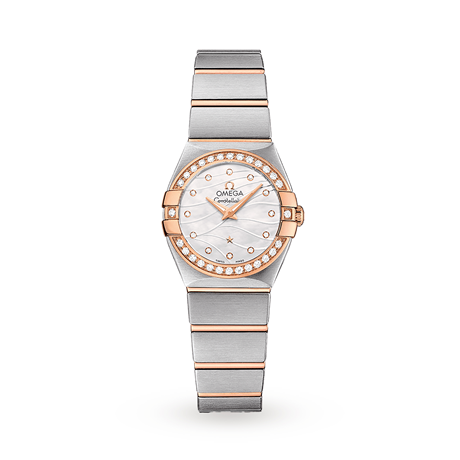 Omega Constellation 24mm Ladies Watch O12325246055012