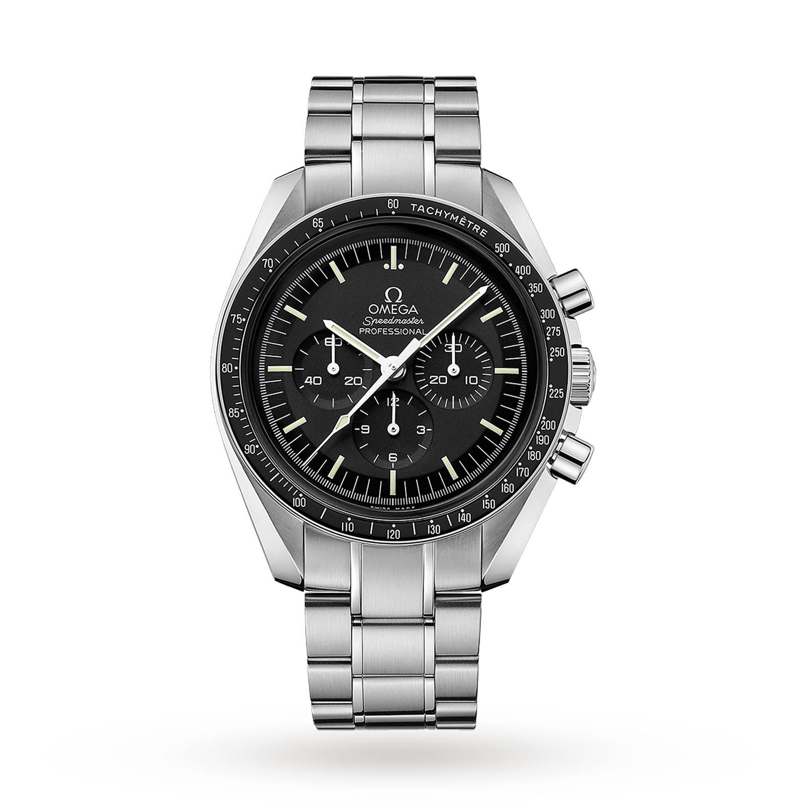 Omega Speedmaster Professional Moonwatch First Watch On T ...