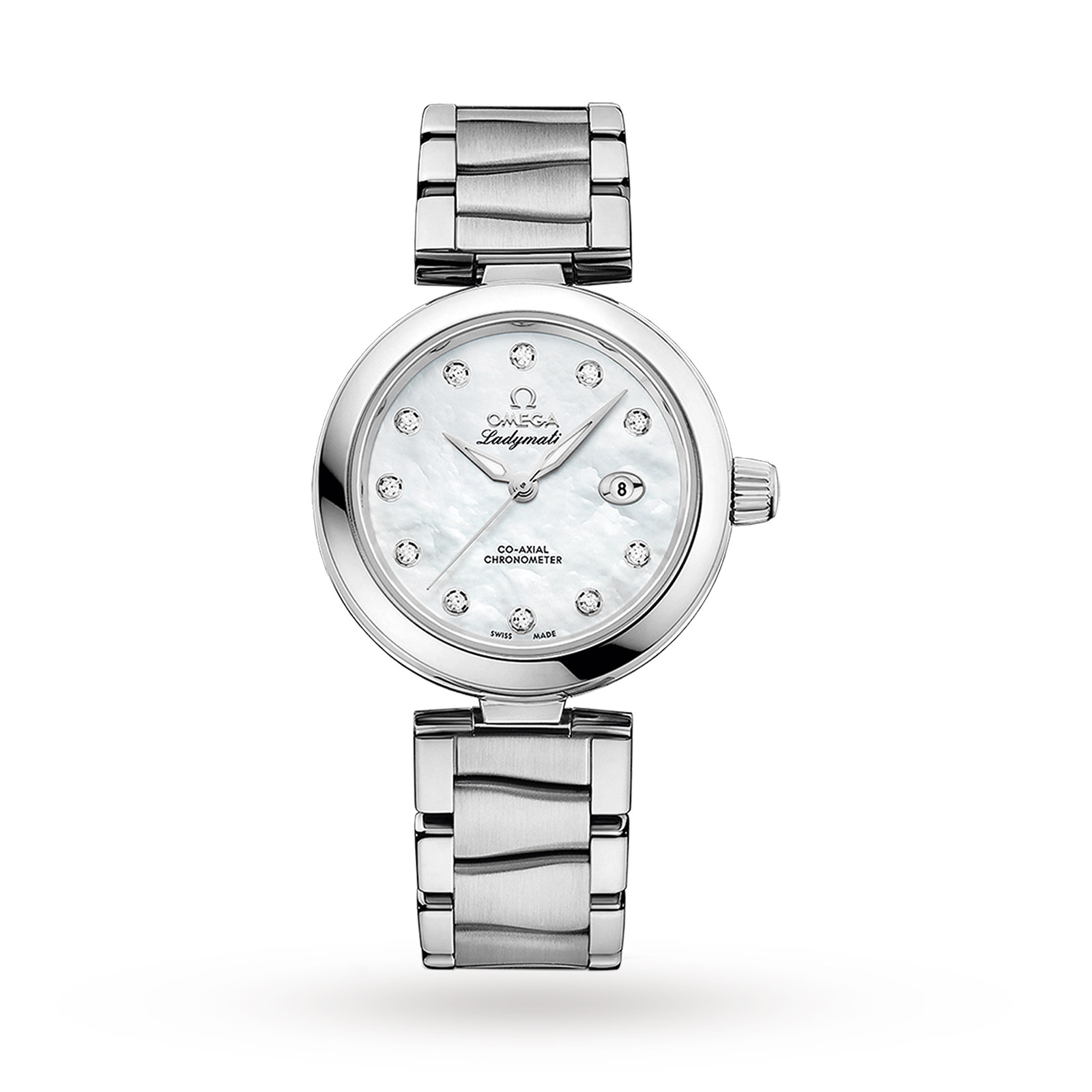 Omega De Ville Ladymatic 34mm Co-Axial Automatic Watch