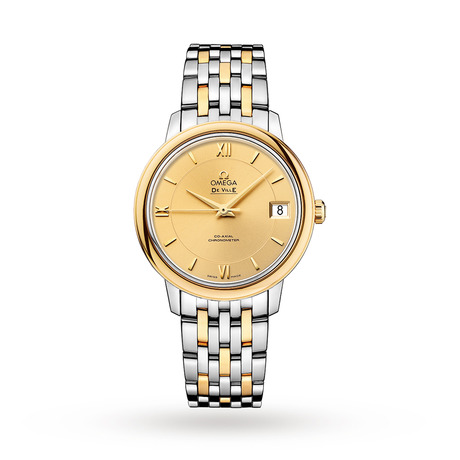 Omega De Ville Prestige Ladies 32.7mm Bicolour Automatic Co-Axial Watch