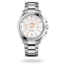Omega Seamaster Aqua Terra 150m Co-Axial GMT Chronograph 43mm Mens Watch