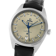 Omega Globemaster Mens 39mm Co-Axial Automatic Date Watch