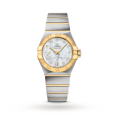 Omega Constellation Co-Axial Master Chronometer Small Seconds 27mm Ladies Watch