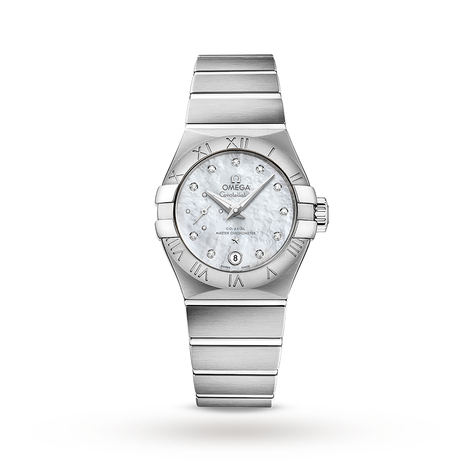 Omega Constellation Ladies 27mm Co-Axial Date Automatic Watch