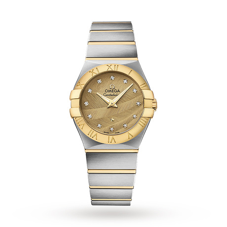 Omega Constellation Quartz 27mm Ladies Watch