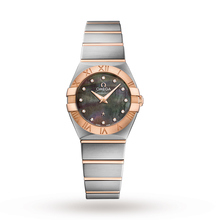 Omega Constellation Ladies 24mm Bicolour Quartz Watch