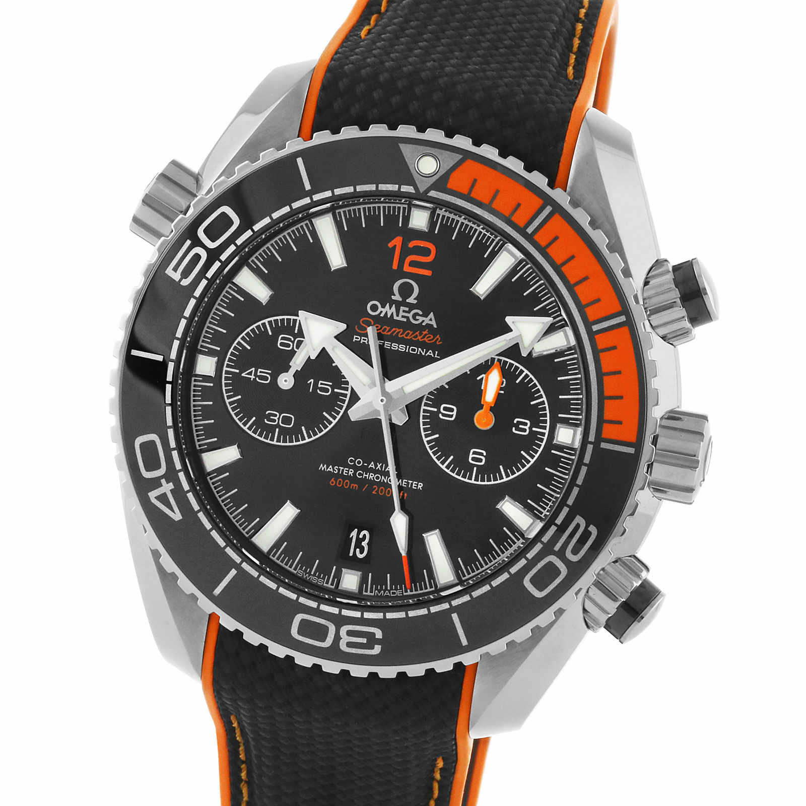 dc2e9aba11d7 Omega Seamaster Planet Ocean 600m Co-Axial Master Chronometer 45.5mm Mens  Watch