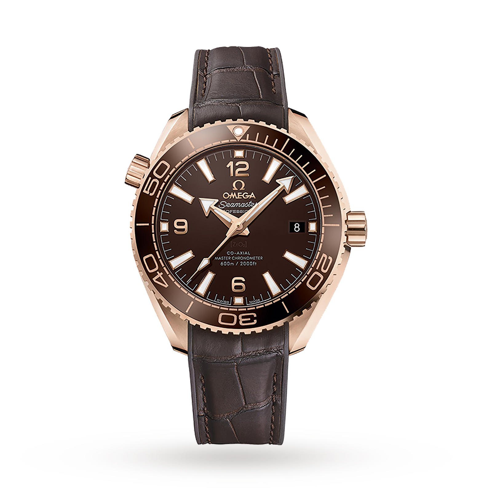Omega Seamaster Planet Ocean 600M Mens 39.5mm Automatic Co ...