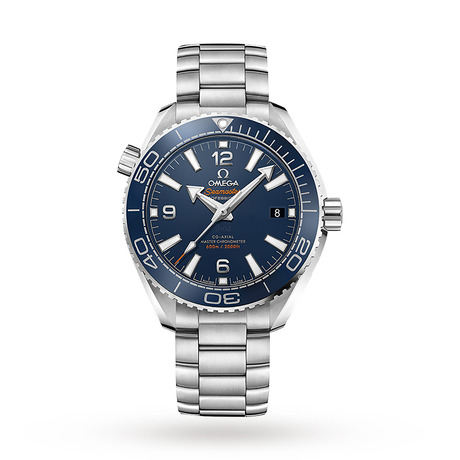 Omega Seamaster Planet Ocean 600M Mens 39.5mm Automatic Co-Axial Blue Divers Watch