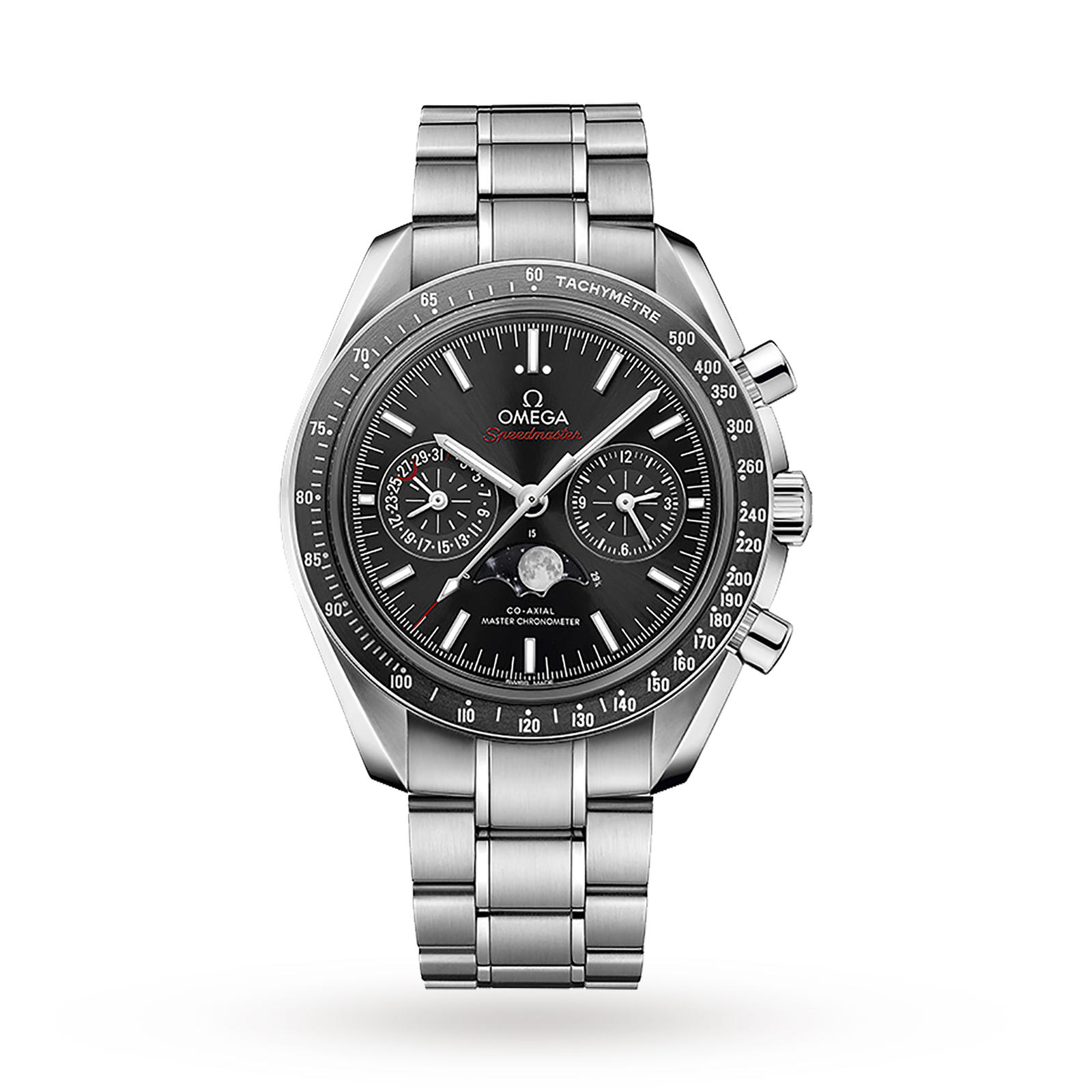 Omega Speedmaster Moonwatch Mens 44.25mm Co-Axial Automatic Moonphase Watch