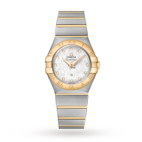 Omega Constellation Ladies 27mm Co-Axial Bicolour Automatic Watch