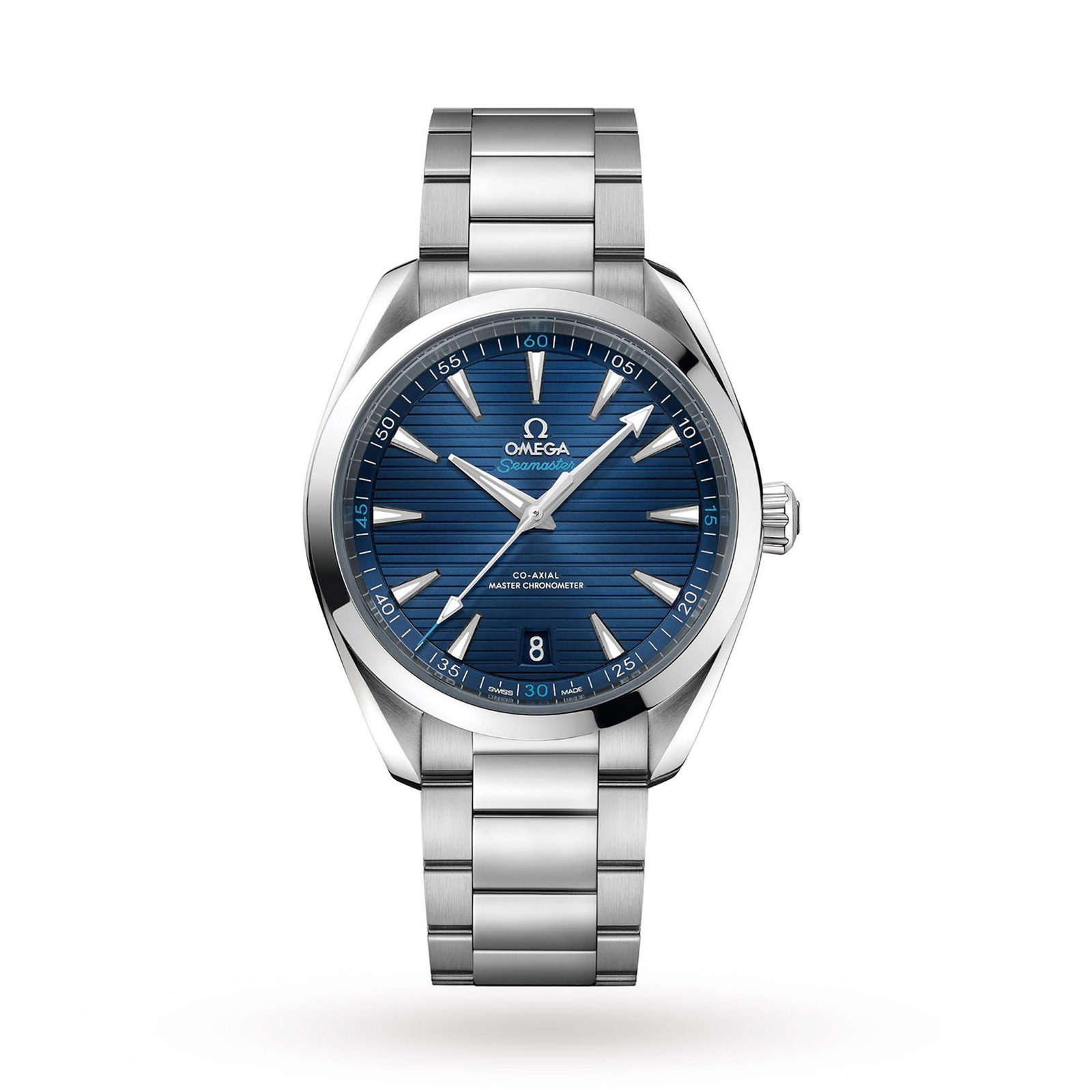 Omega Seamaster Aqua Terra 150M Mens Blue Dial 41mm Automatic Co-Axial Watch