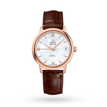 Omega De Ville Prestige Ladies 32.7mm Co-Axial Automatic 18ct Rose Gold Watch