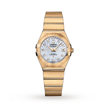 Omega Constellation Ladies 27mm 18ct Gold Automatic Watch
