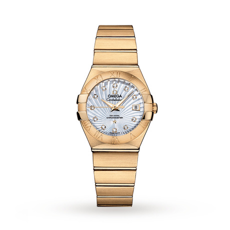 Omega Constellation Co-Axial 27mm Ladies Watch