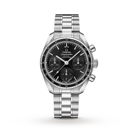 Omega Speedmaster Co-Axial 38mm Moonwatch Mens Watch O32430385001001