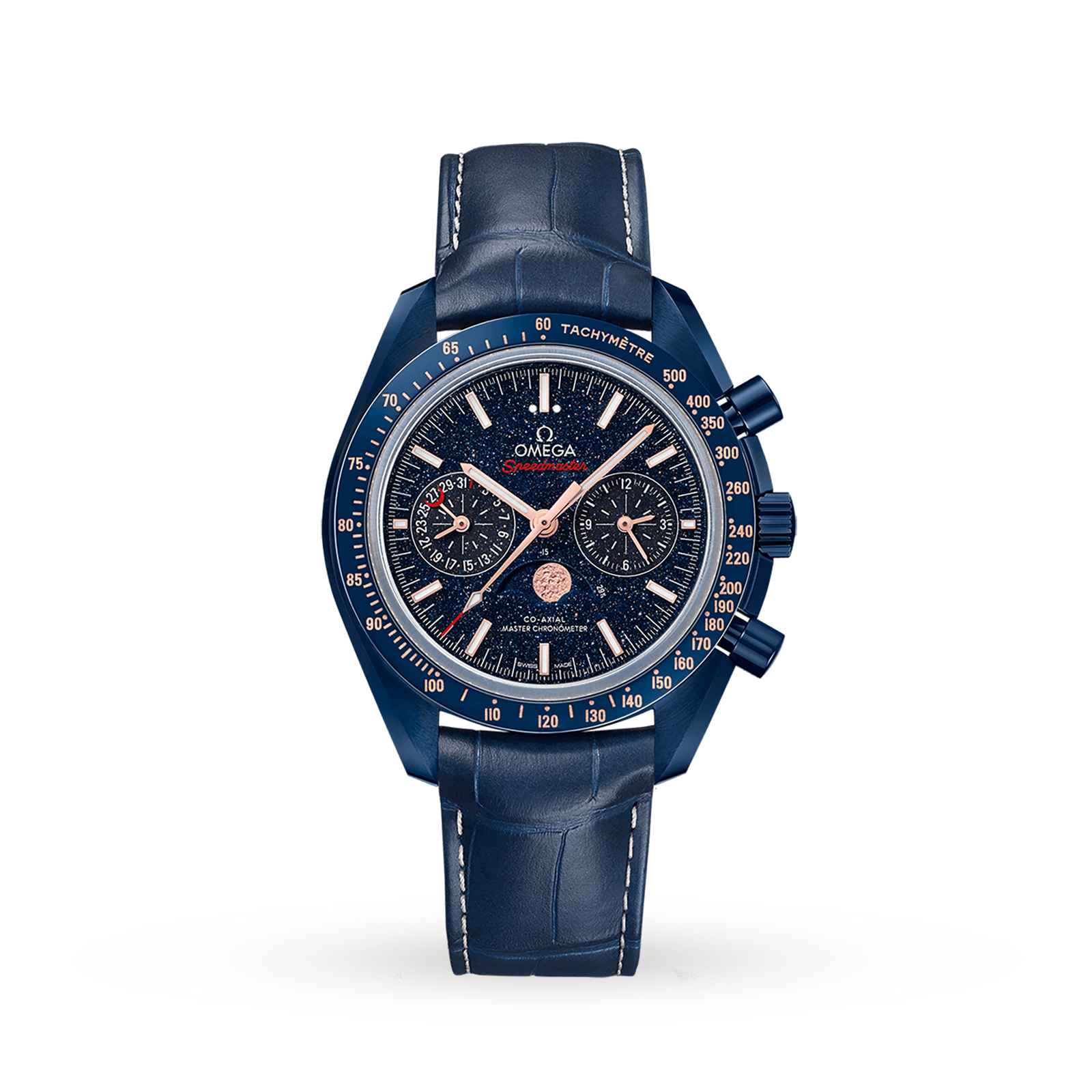 Omega Speedmaster Co-Axial Master Chronometer Moonphase C ...