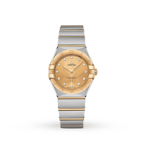 Omega Constellation Manhattan 28mm Ladies Watch O13120286058001
