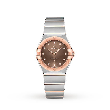 Omega Constellation Manhattan Quartz 28mm Ladies Watch