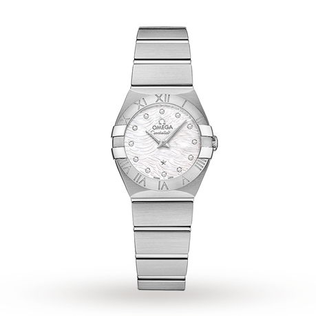 Omega Constellation 24mm Ladies Watch O12310246055004