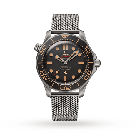 Omega Seamaster Diver 300m James Bond 007 2020 Edition - Available March / April 2020