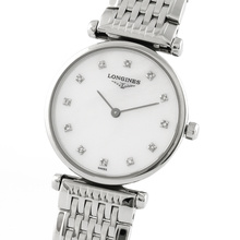 Longines La Grande Classique Ladies 24mm Diamond Dot Quartz Watch