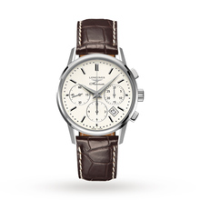 Longines Flagship Heritage Mens 40mm Automatic Chronograph Watch