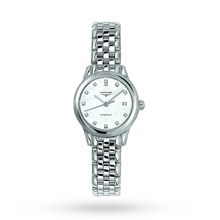 Longines Flagship Ladies 26mm Diamond Dots Automatic Watch