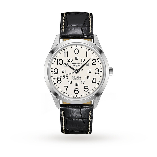 Longines Railroad Heritage Mens 40mm Automatic Watch