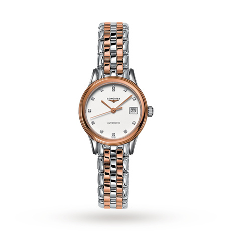 Longines Flagship Ladies 26mm Diamond Dot Quartz Watch