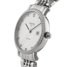 Longines Elegant Collection Ladies 29mm Diamond Automatic Watch