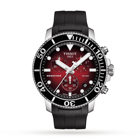 Tissot T-Sport Seastar 43mm Mens Watch Exclusive T1204171742100