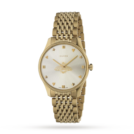 Gucci G-Timeless Slim Bee Ladies Watch YA1264155