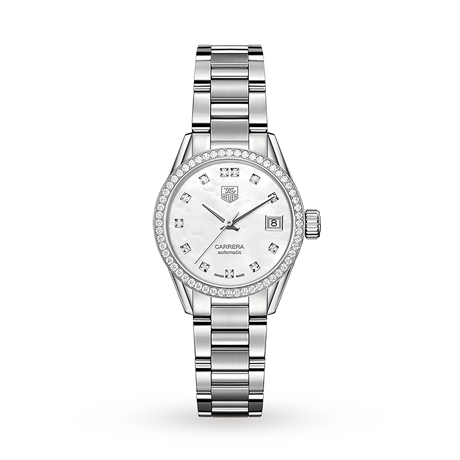 TAG Heuer Carrera 28mm Ladies Watch WAR2415.BA0776