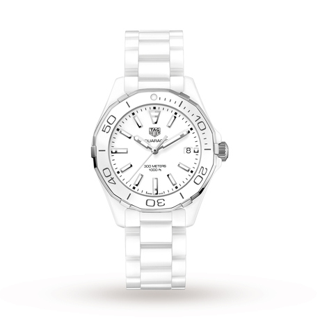 TAG Heuer Aquaracer 300M Ceramic Ladies 35mm Quartz Watch