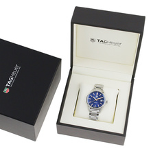 TAG Heuer Carrera Ladies 39mm Quartz Blue Dial Watch
