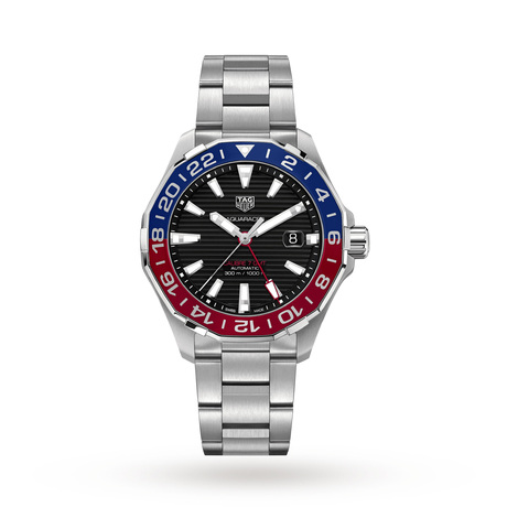 TAG Heuer Aquaracer 300M Calibre 7 GMT Mens 43mm Watch