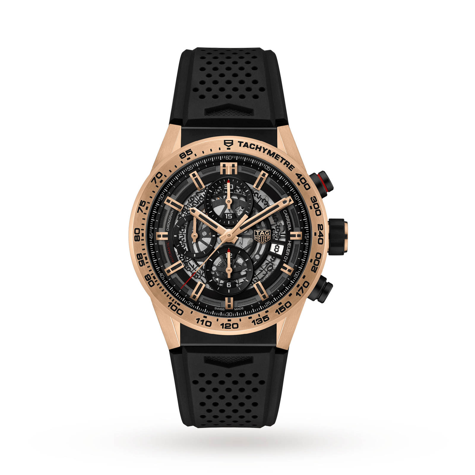 dial in carrera tag black heuer chronograph watches calibre