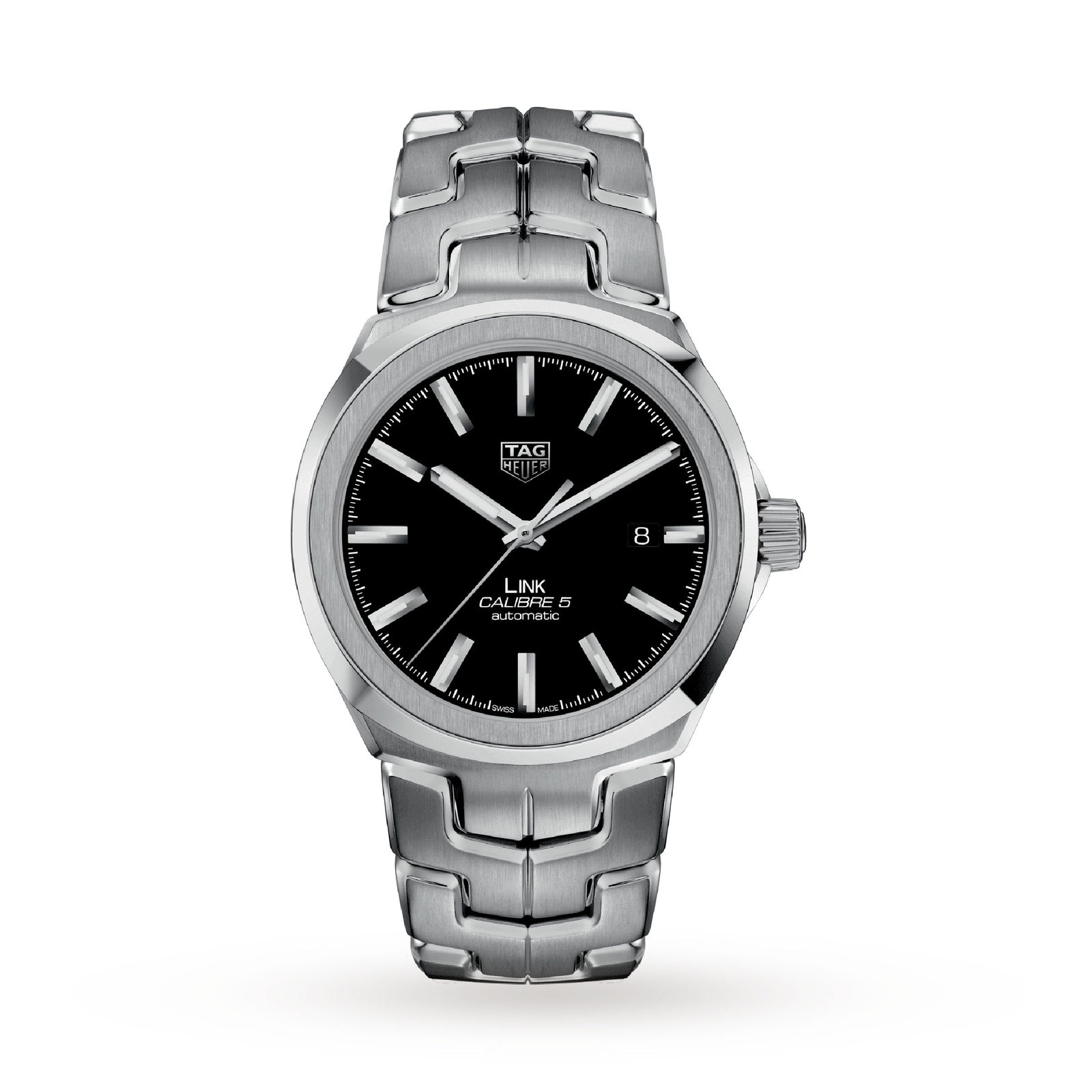 TAG Heuer Link Calibre 5 Mens 41mm Automatic Date Watch